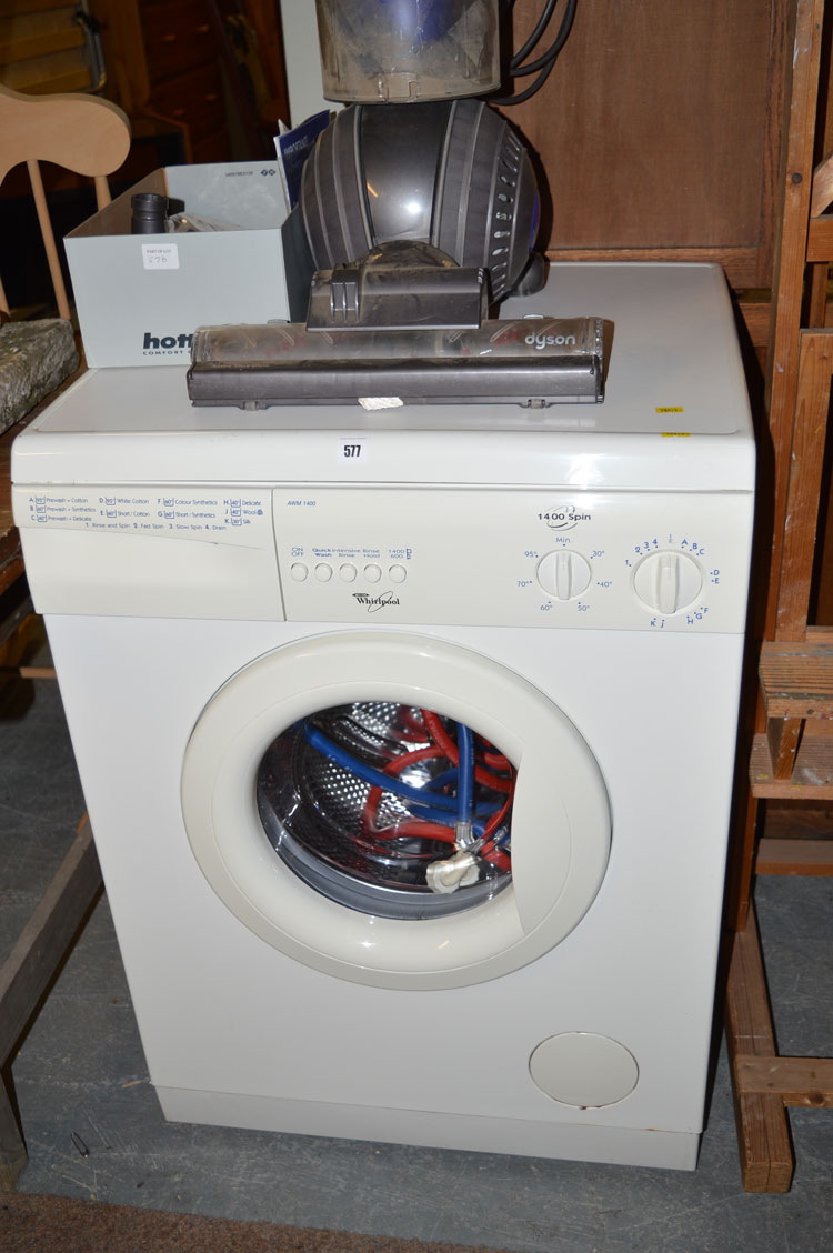 how to use whirlpool automatic washing machine