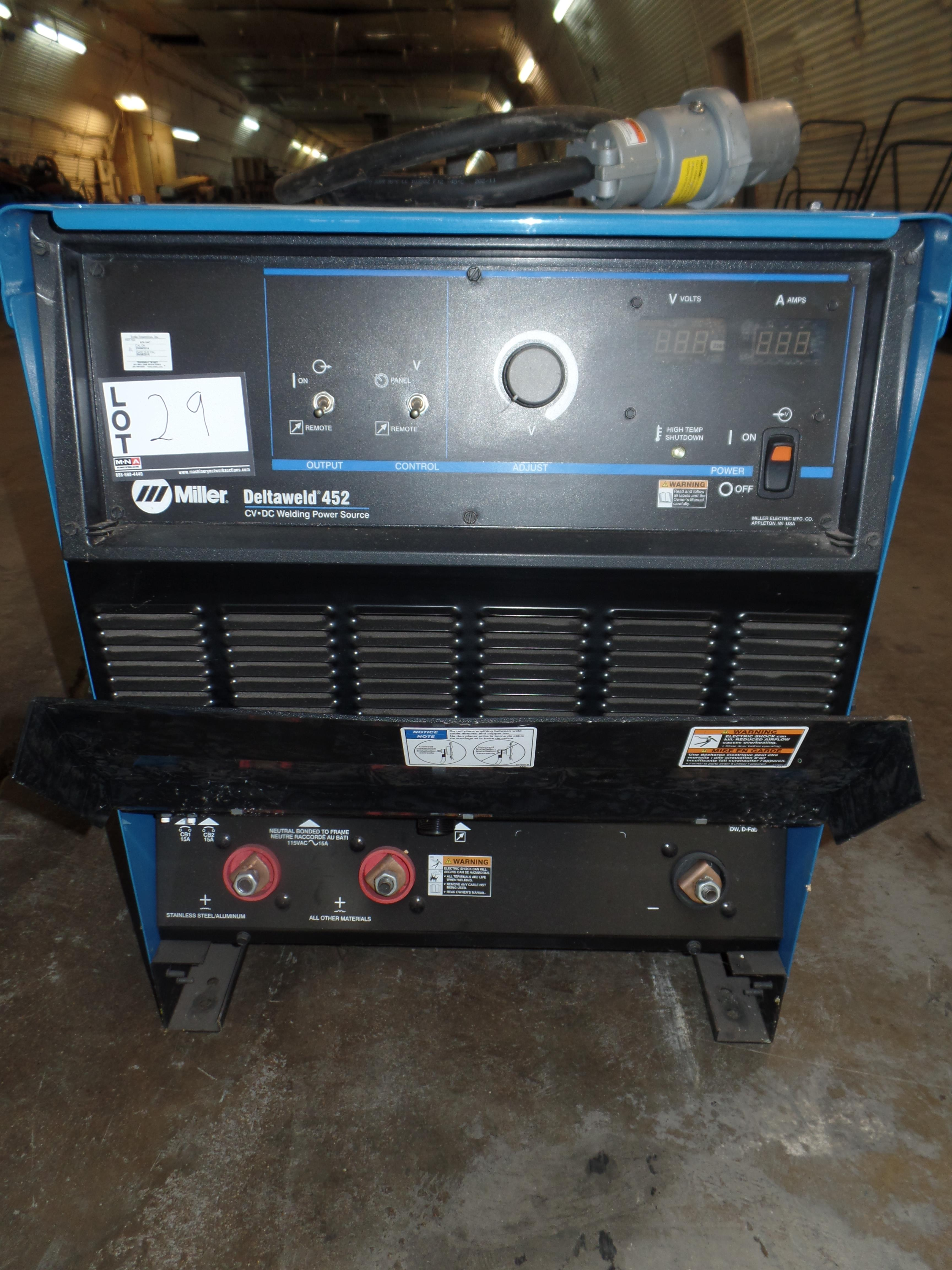 Deltaweld 452 MIG Welder S/N ME210142C (Located in Fort Worth, TX) - Image 2 of 6