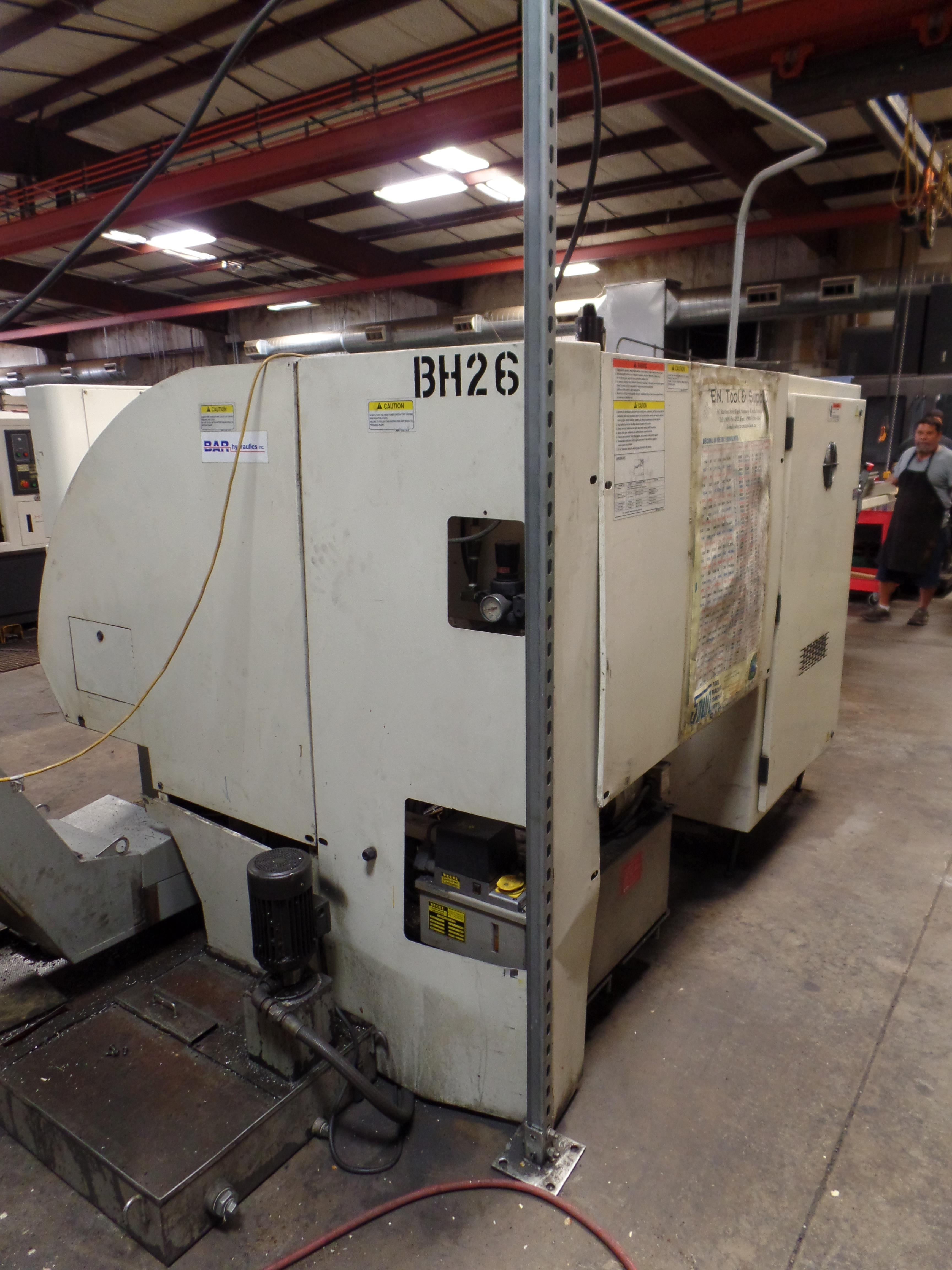 1999 Okuma Crown 762SBB big bore 2-axis CNC turning center with LNS bar feed, OSP700L control, parts - Image 5 of 16