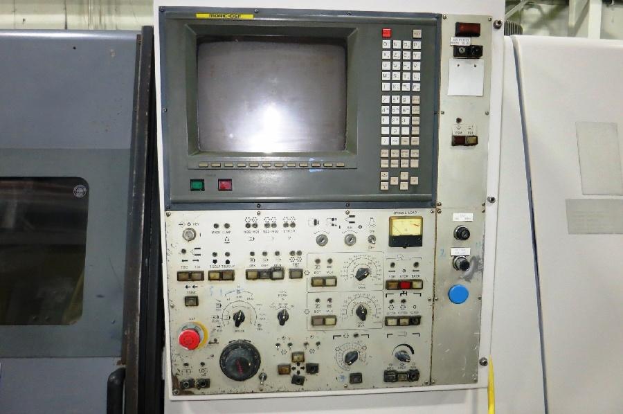 "1995 Mori Seiki ZL-25 4 Axis CNC Turning Center, Mori MSD-516 control, 10"" chuck, chip conveyor - Image 6 of 6"