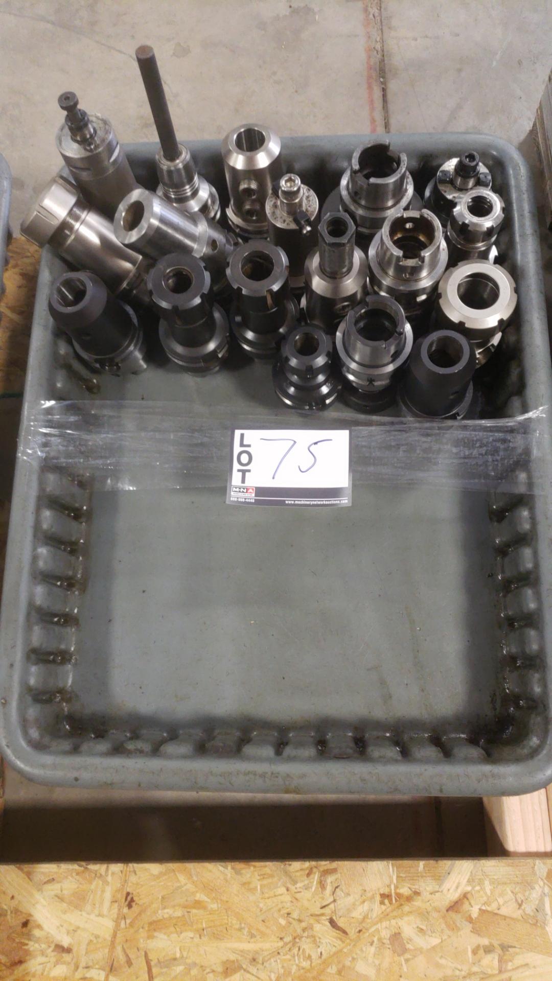18 each HSK 63 Tool Holders for Mori SH-500