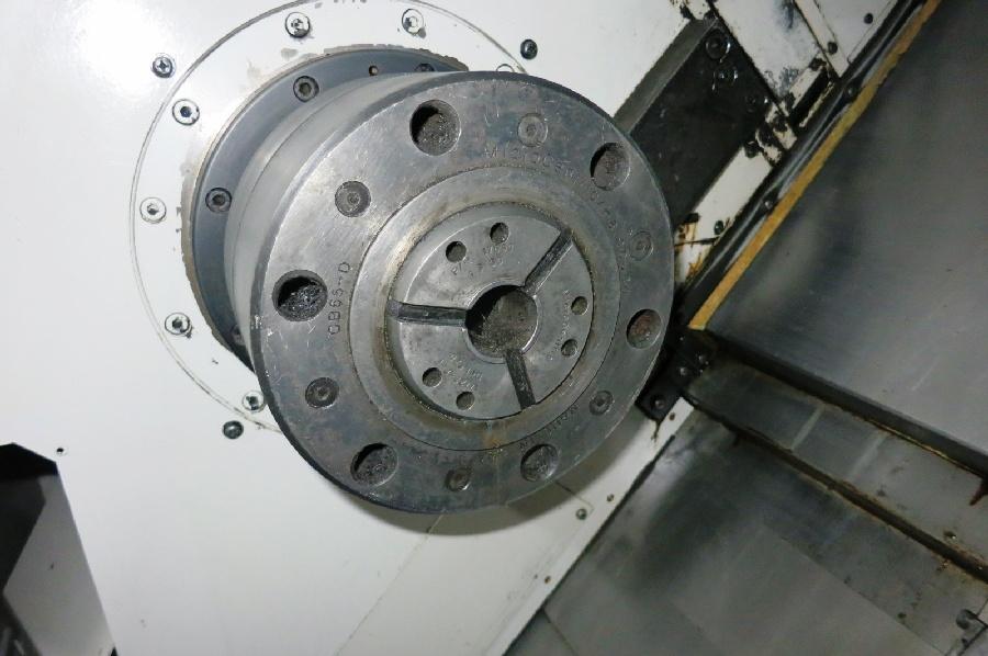 "1995 Mori Seiki ZL-25 4 Axis CNC Turning Center, Mori MSD-516 control, 10"" chuck, chip conveyor - Image 5 of 6"