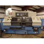 2003Mazak Dual Turn 20 4 Axis Twin Spindle Twin Turret Opposed CNC Turning Center, rear discharge