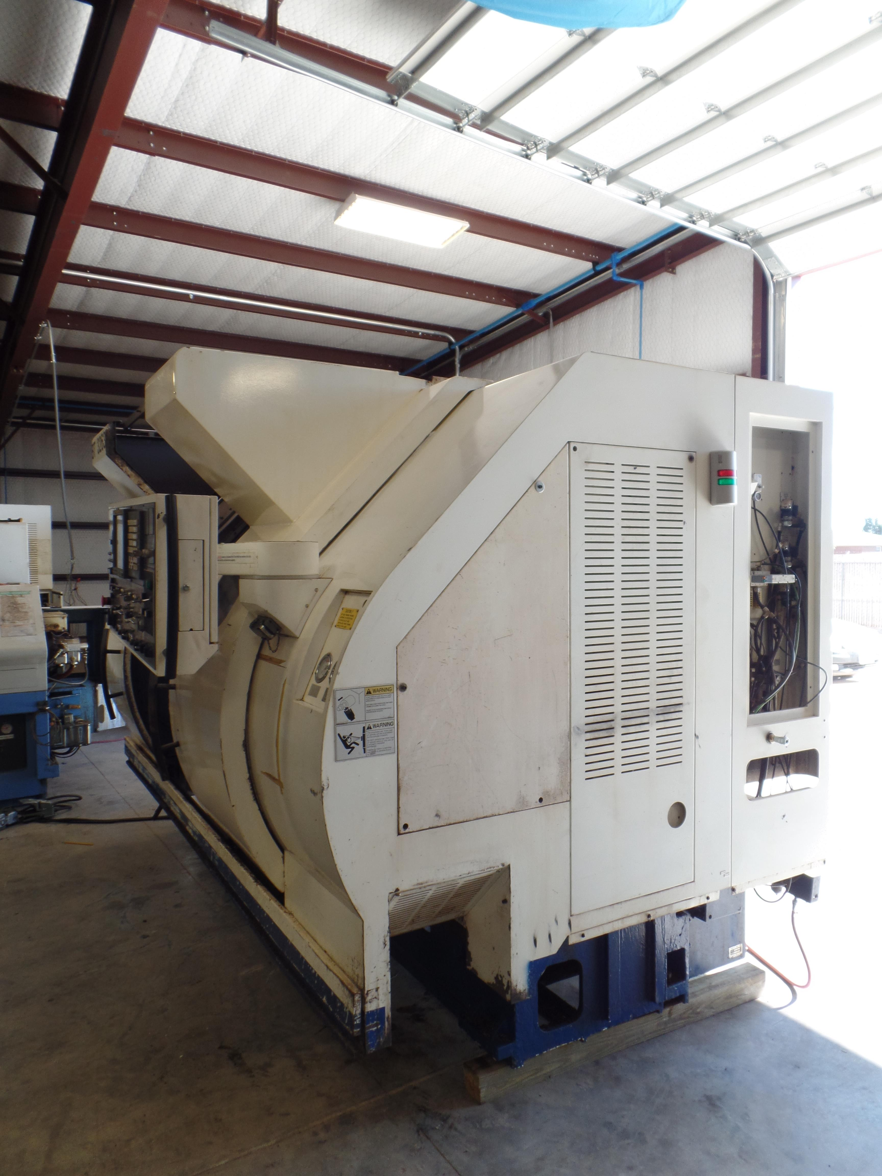 2005 Nakamura TW-20 Twin Spindle Twin Turret Opposed CNC Lathe, Fanuc 18iTB CNC control chip, side - Image 14 of 15