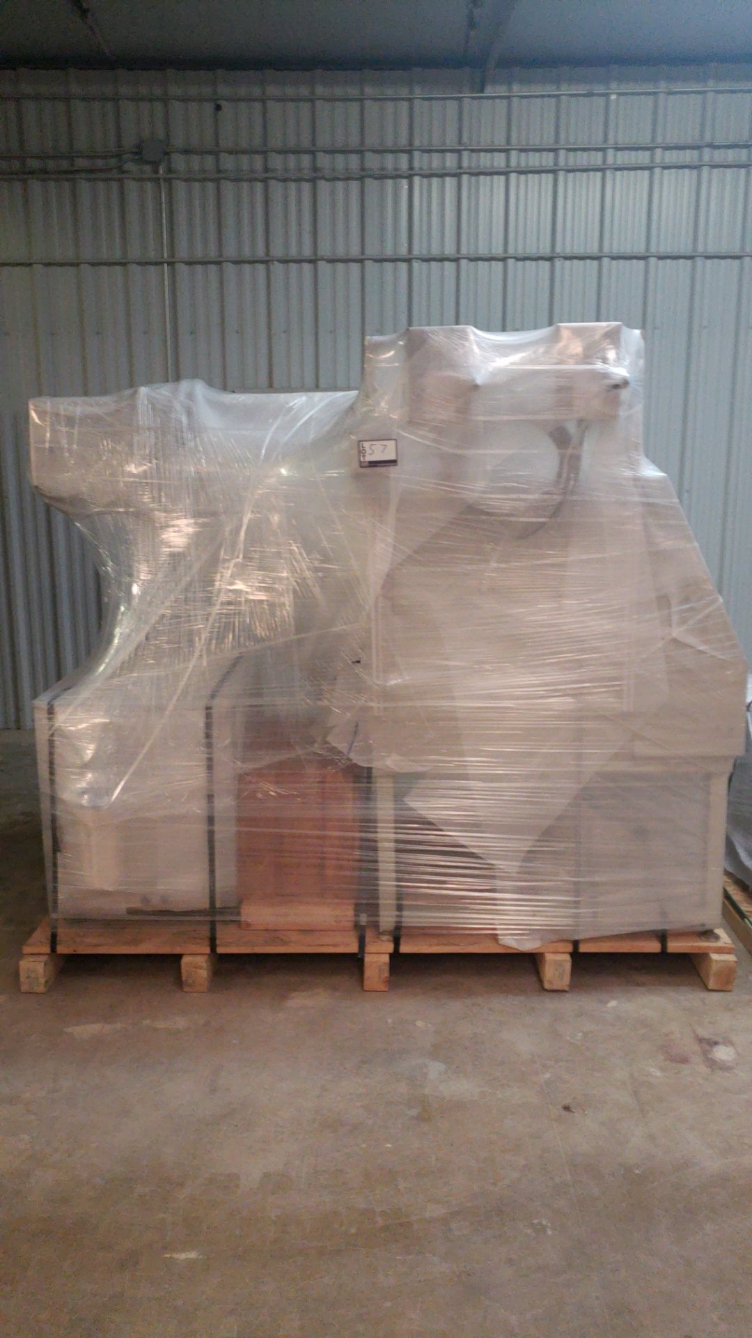 GSI Lumonics HM1400 Laser Marker w/YAG T818/FS/CE Laser, LPS 30 CCS Power Supply 100 watt, - Image 9 of 10