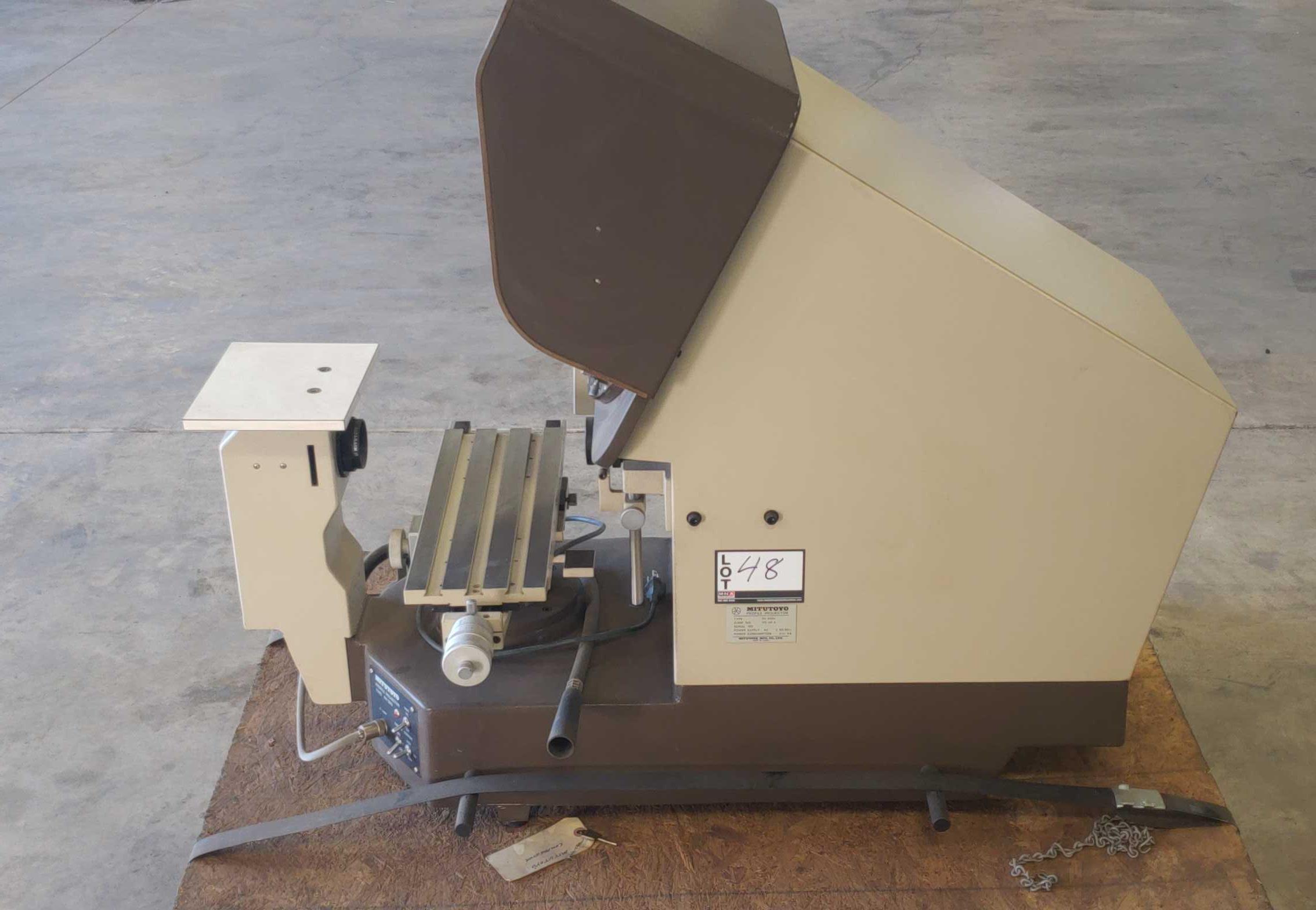 Mitutoyo PH-350 Optical Comparator SN: 40302 - Image 6 of 12