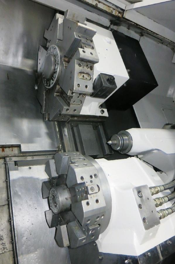 "1995 Mori Seiki ZL-25 4 Axis CNC Turning Center, Mori MSD-516 control, 10"" chuck, chip conveyor - Image 3 of 6"