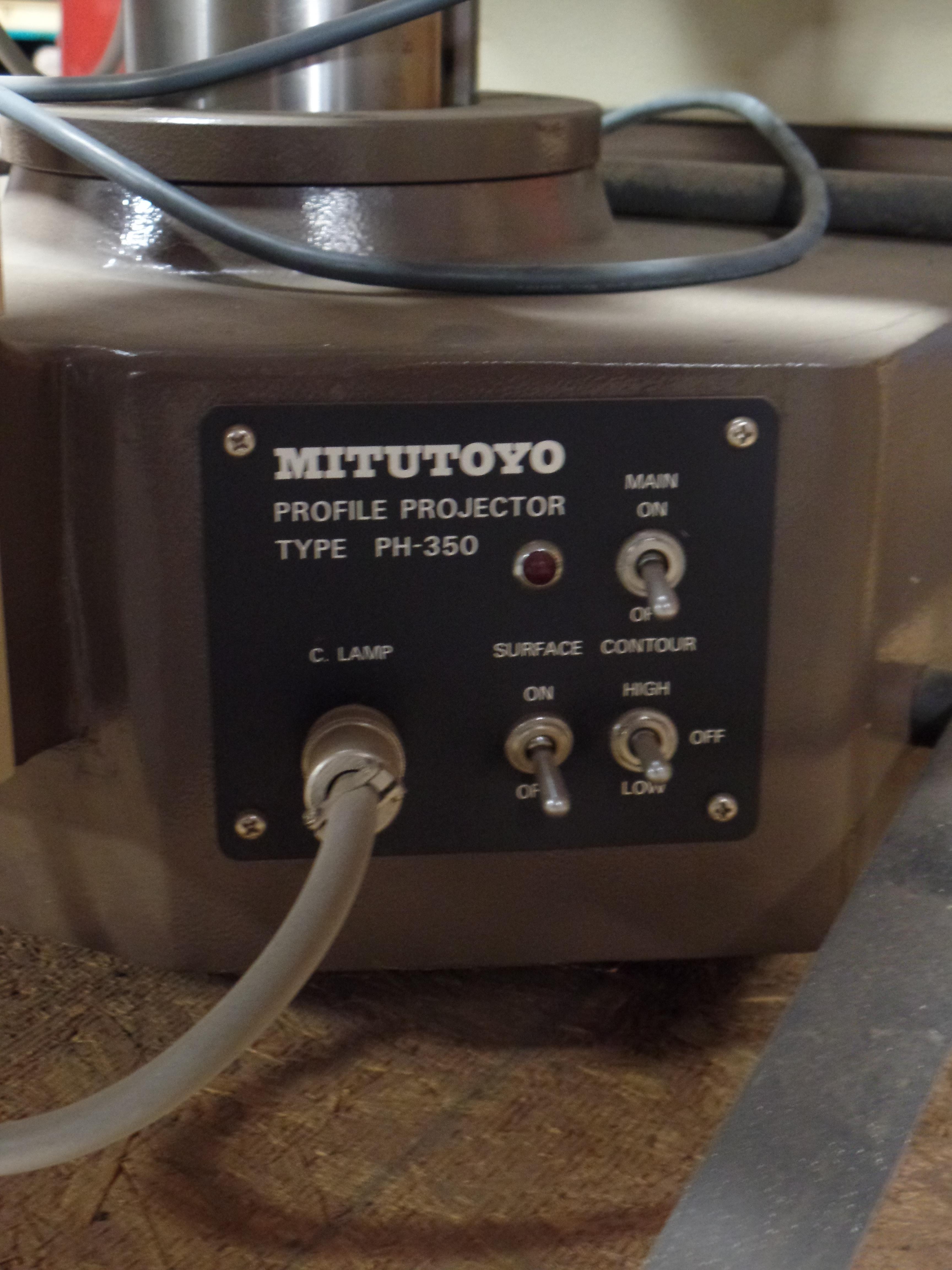 Mitutoyo PH-350 Optical Comparator SN: 40302 - Image 10 of 12