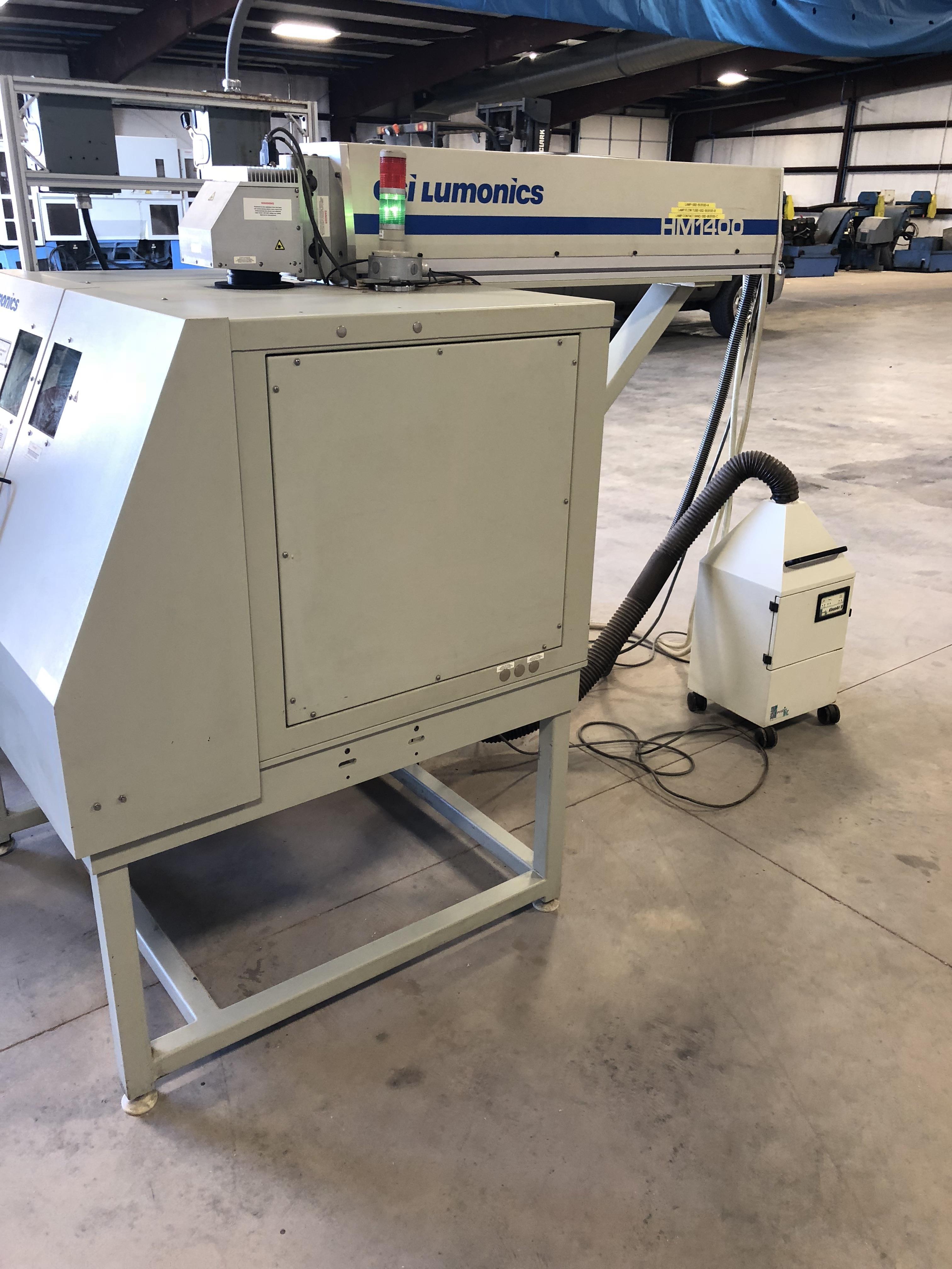 GSI Lumonics HM1400 Laser Marker w/YAG T818/FS/CE Laser, LPS 30 CCS Power Supply 100 watt, - Image 2 of 10