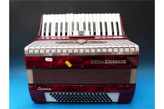 Accordions Musical Instruments (pre-1930) Provided Akkordeon Royal Standard Capella
