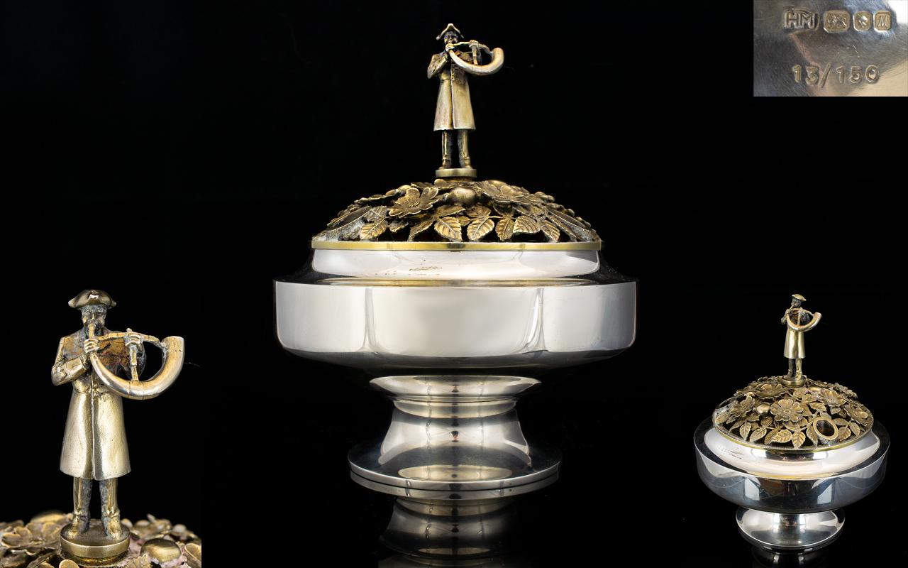 Lot 108 - Superb Quality Gilt Silver 'Aurum Ripon'