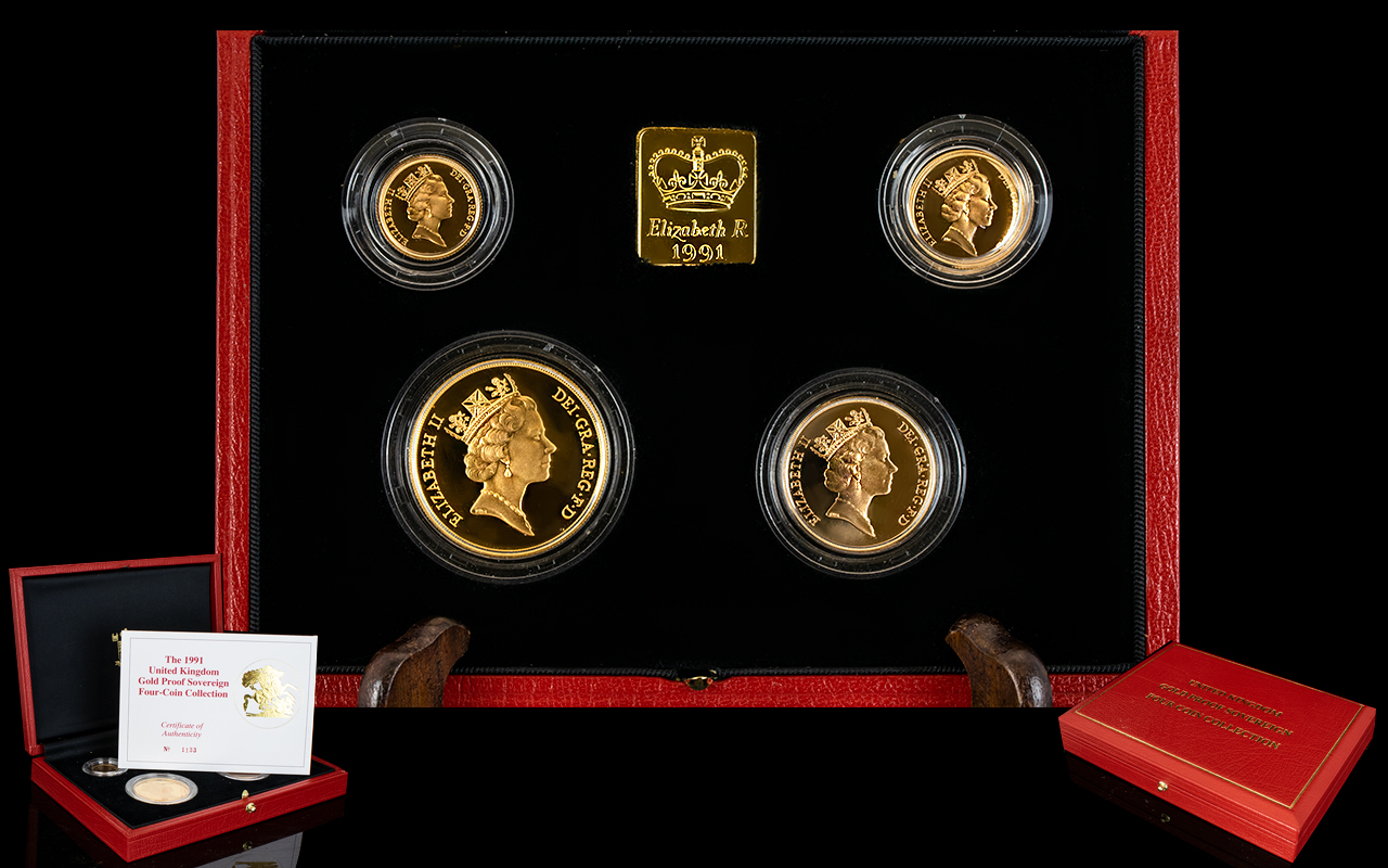 Lot 32 - United Kingdom Ltd Edition Gold Proof So