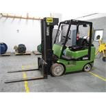 """CLARK, CGC 25, 4,175 LBS, 4 STAGE, LPG FORKLIFT WITH SIDESHIFT, 240"""" MAXIMUM LIFT, 6,041 HOURS, S/"""
