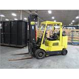 """HYSTER, S120XMS-PRS, 12,000 LBS, 3 STAGE, LPG FORKLIFT, 48"""" FORKS, 208"""" MAXIMUM LIFT, 9,701 HOURS,"""