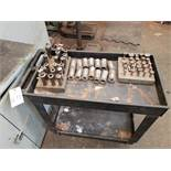 Cart, W/ Contents, Collets & Tooling Rig Fee: $25