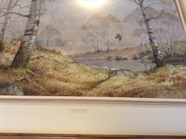 Lot 44 - Elizabeth gray original watercolour with important labels to rear