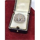1.52CT DIAMOND RING SET IN 9CT ROSE GOLD
