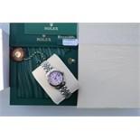 Rolex Steel/ 18K White Gold 'Lady' DateJust 26 - Pink Diamond
