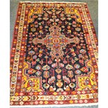 Lot 318 - A Persian Jozan Rug 148 x 100cm