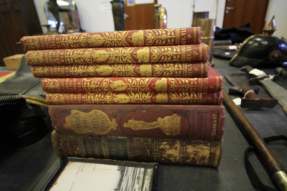 Lot 40 - Selection of Military Books