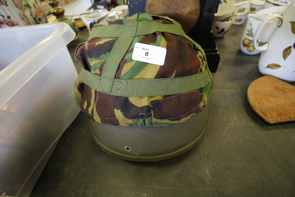 Lot 8 - Army Helmet