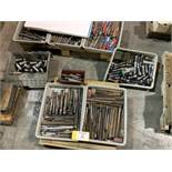 Assorted lot perishable tooling and collets