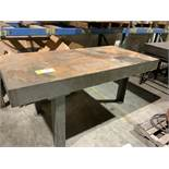 Cast-iron layout table