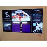 """SAMSUNG 46"""" HDTV W/ REMOTE (INSIDE CAFE WALL PANEL)"""