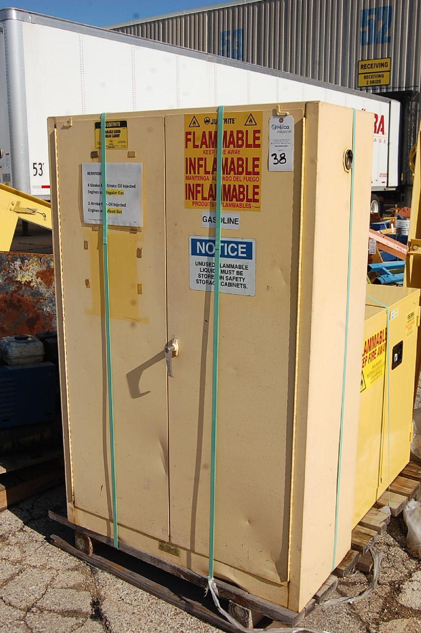 Justrite 45-Gallon Flammable Liquids Storage Cabinet