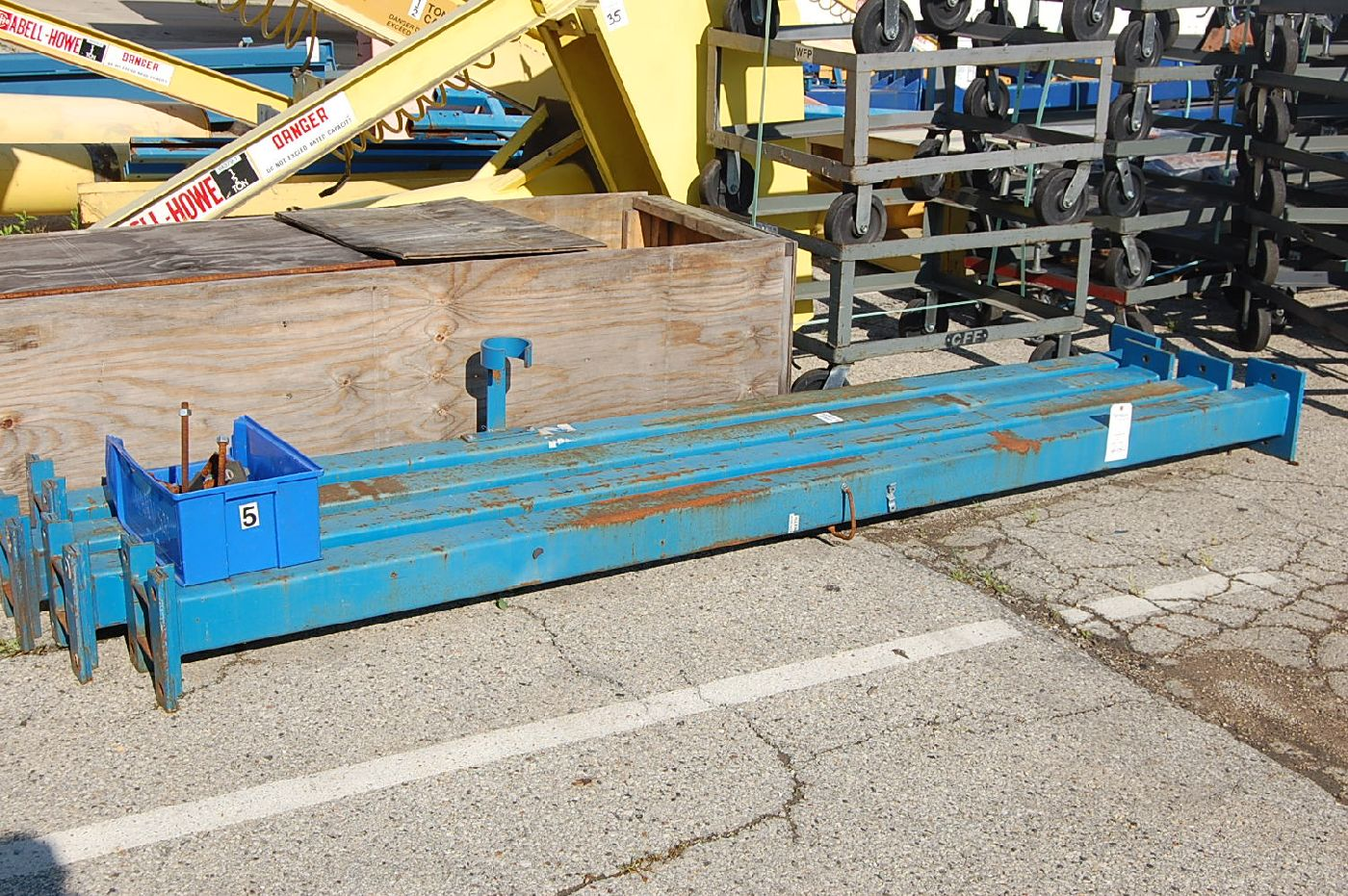 Gorbel Gantry Crane - Image 11 of 11