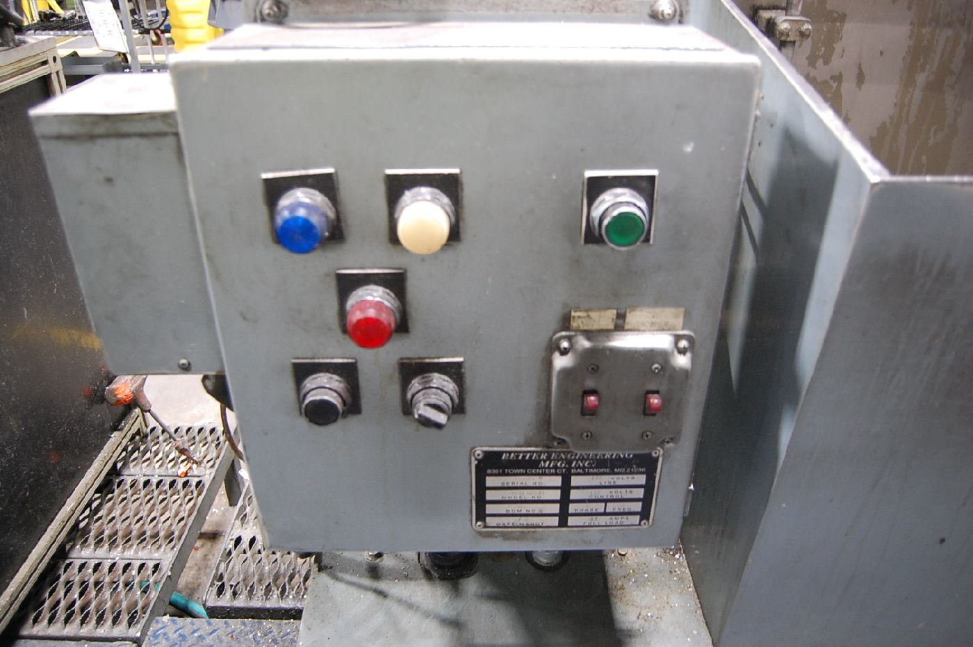 Lot 15 - Better Engineering Model Impulse II Parts Washer