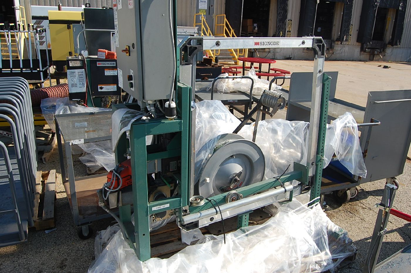 Signode Model MOD 710 Power Strapping Machine