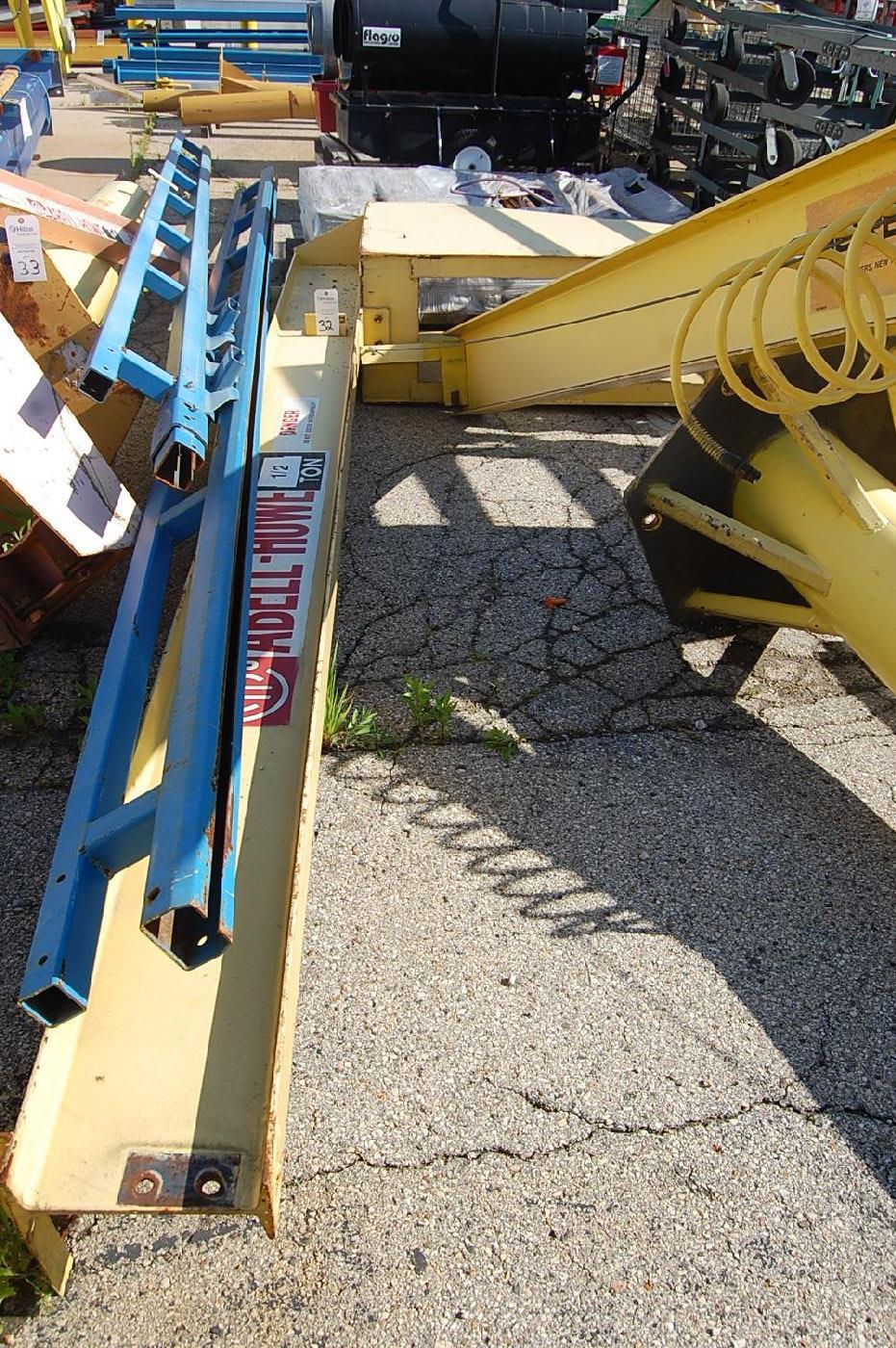 Abell-Howe 1/2-Ton Floor Standing Jib Crane