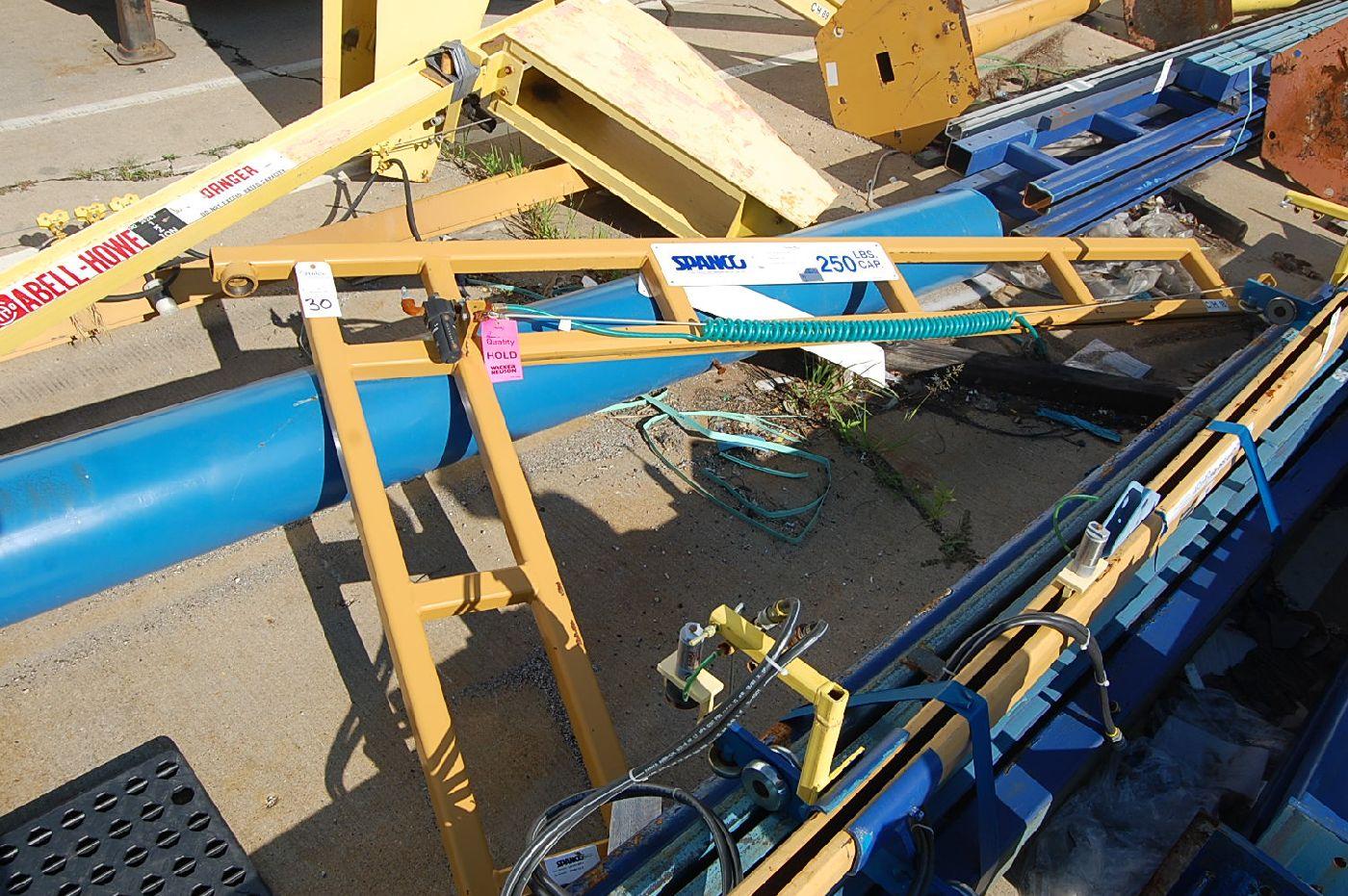 Spanco 250 Lb. Floor Standing Jib Crane