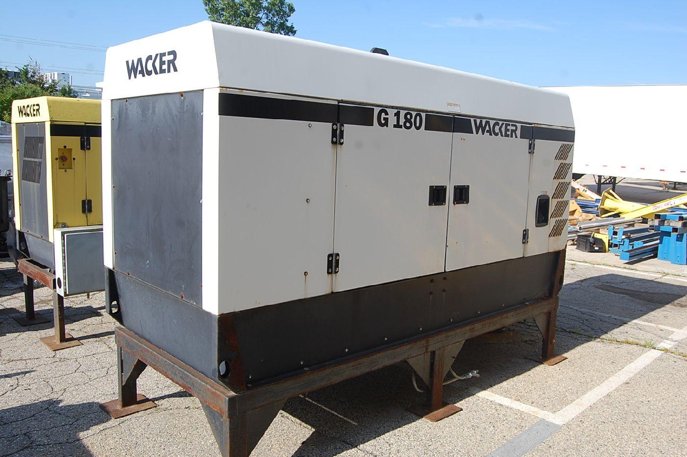 Wacker Model G180 180 kVa Diesel Generator