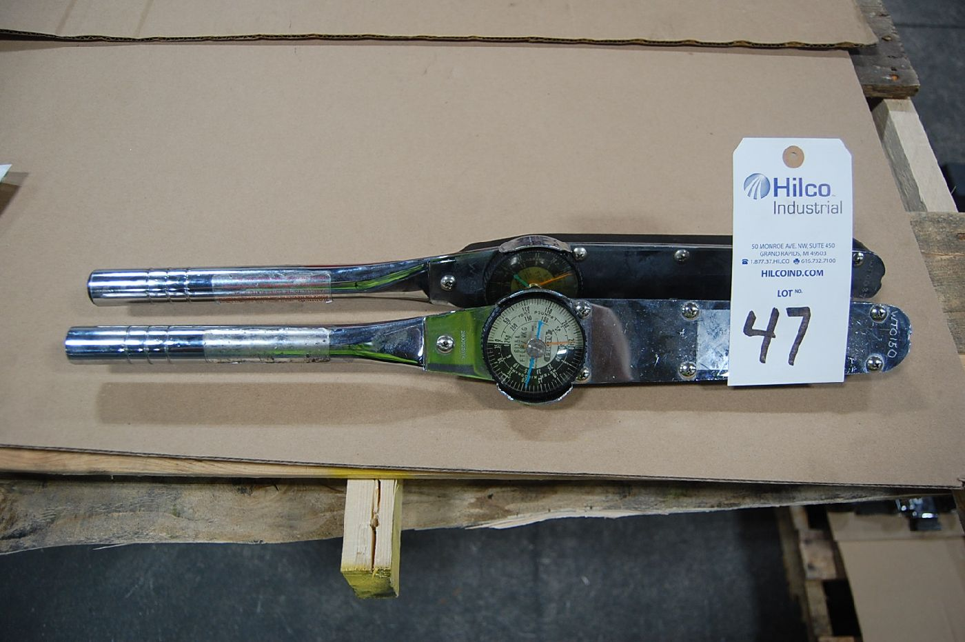 Proto Model 6125A Dial Type Torque Wrench
