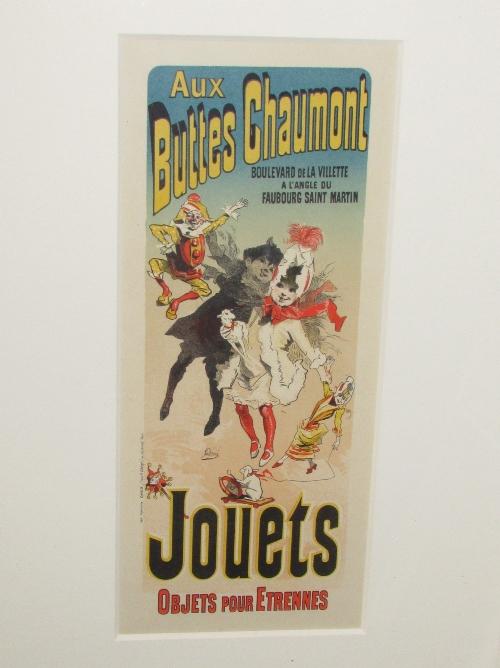 Lot 17 - After Jules Chéret - 'Aux Buttes Chaumont (pour le magasin) (33cm x 14cm) Goldmark Gallery of