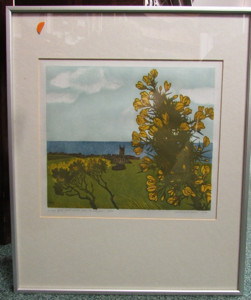 Lot 26 - Ian McNeil Cooke - '6 Views of St. Just - No 4 from Bosvargus', lithograph, signed and numbered 18/