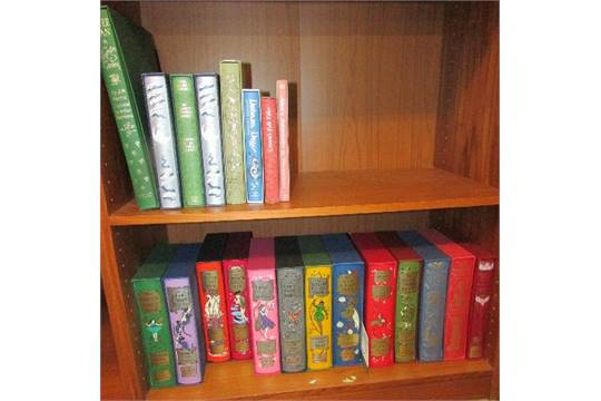 Folio Society   Ten Fairy Books By Andrew Lang (Olive, Red, Pink, Crimson,  Orange, Lilac, Grey, G