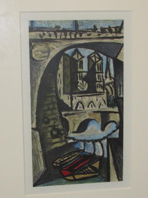 Lot 2 - After Pablo Picasso (1881-1973) - 'Notre Dame 3 from the Suite Dans L'Atelier de Picasso',