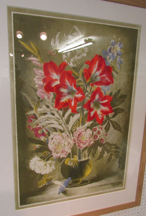 Lot 10 - After Gerald Cooper (1898-1971) - 'Striped Lily', lithograph from the School Prints Series printed
