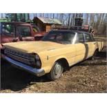 1966 Galaxy 4-Door Car VIN 6B62C189198