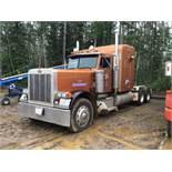1992 Peterbilt 379 T/A Truck Tractor VIN 1XP5DB9X3ND316867 425 Cat Engine, 46 Rears, 18spd Trans, He