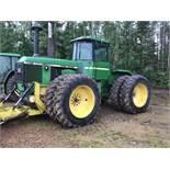 1982 John Deere 8440 4wd Tractor sn 8440H005470 1000PTO, 3hyd, 7090hrs, Recent Motor Job, 18.4-38 Du
