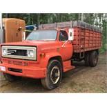 Chevy C60 S/A Grain Truck VIN CCE625V148498 10spd Trans, Steel Box & Hoist