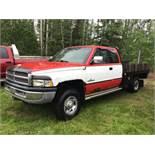 1996 Dodge Cummins Ext/Cab 4x4 Deck Truck 693,000km, VIN 1B7KF23C1TJ104326