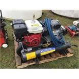 9hp Honda Wheelbarrow Compressor