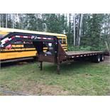 2006 PJ T/A Dually Deck-Over 5th Wheel Trailer VIN 4PSFD252X81119878 LT245/78R16 Tires, Beaver Tail