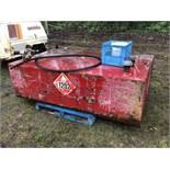 300g Flat Top Tidy Tank w/Elec Pump