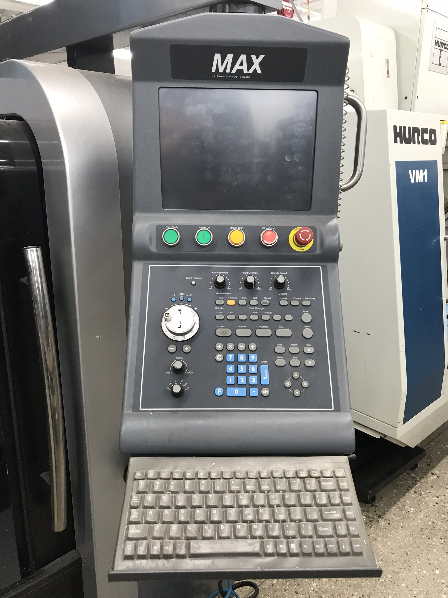 Hurco VM-10i Vertical Machining Center, Loaded with Software and Options (2013) 1,600 Total Hours - Image 4 of 7